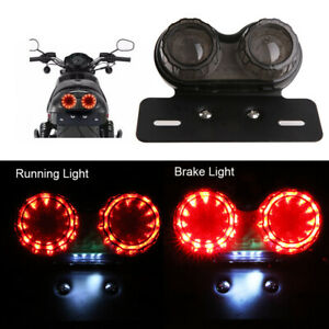 Motorcycle LED Brake Stop Tail Light Turn Signal Universal Fit