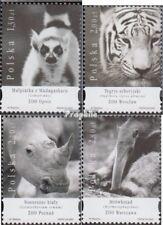 Polen 4208-4211 (kompl.Ausg.) postfrisch 2005 Zoologische Gärten