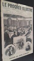 Diario El Progress Dibujado N º 412 Domingo 6 Novembre 1898 ABE