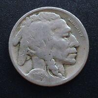 USA 1919 S Buffalo Nickel San Francisco 5 Cent Selten 2070