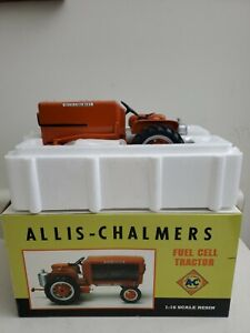 Allis Chalmers Fuel Cell Tractor 1/16 Resin Orange Spectacular