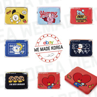 "BT21 Bite Boucle 13"" Laptop Sleeve Pouch Cover 7types Authentic K-POP Goods"