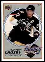2008-09 Upper Deck Hockey Heroes Sidney Crosby Sidney Crosby . #HH3