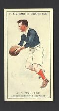 SMITH - PROMINENT RUGBY PLAYERS - #24 A C WALLACE, LONDON SCOTTISH & SCOTLAND