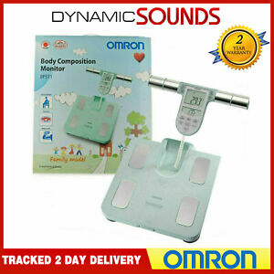 Omron Family Body Composition Digital Muscle Bathroom Weighing Scale - Turqoise