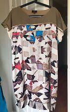 Geometric Regular Size Cotton/Polyester Dresses for Women