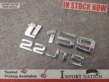ALFA ROMEO 159 Ti USED REAR BOOT BADGES 2.2L JTS - 939 2005-11