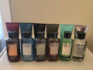 Bath & Body Works Mens Collection Ocean Teakwood Bourbon Graphite Noir Pick 1