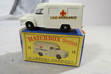 Matchbox BOXED No 14 Lomas Ambulance