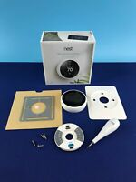 Nest Learning Thermostat Smart Thermostat Model T3017US 3rd Gen White #M0203