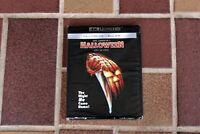HALLOWEEN 4K ULTRA HD DVD + BLU-RAY BRAND NEW SEALED