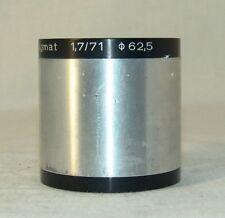 Meopta MEOSTIGMAT 1,7/71  ф 62,5 projector Lens
