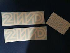 VW T3 T25 Vinyl Decal White Sticker 2wd syncro transporter