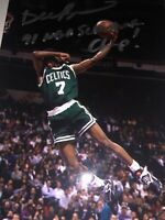 Boston Celtics DEE BROWN Signed 4x6 Photo NBA SLAM DUNK CHAMP AUTOGRAPH
