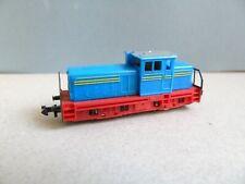 MiniTrix Spur N - 2026 Diesel-Werkslok  2Achs. blau/gelb/rot  sehr gut