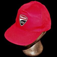 Ducati Corse Italy Red Italian Motorcycle Track Racing Team Baseball Hat Cap