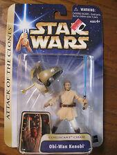 Star Wars - Attack of the Clones - Obi-Wan Kenobi Action Figure - 2004
