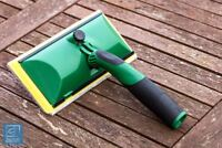 Decking Shed and Fence Paint Pad Treatment Timber Stain Applicator Brush