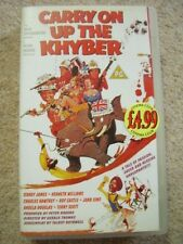 VHS Video Cassette tape,Carry on,Up the Khyber