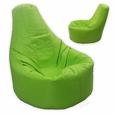 Large Bean Bag Gamer Recliner Outdoor and Indoor Adult Gaming XXL Lime Green - B