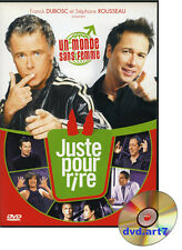 DVD : JUSTE POUR RIRE - avec Dubosc - Élie Semoun - Foresti - Gad Elmaleh