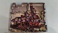 Train Tin  Cookie Cutter 8PC Set