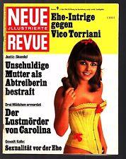 Neue Revue Nr. 9 3.3.1968 Biggy Freyer, Kecia, V. Torriani, Che, Inger Nilsson