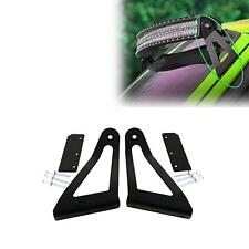 """One 50"""" Curved LED Light Bar Mounting Brackets for Jeep Cherokee XJ 1984-2001"""