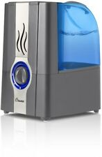Humidifier 1 Gal. Warm Mist Electro-Mechanical Slate with Water Level Indicator