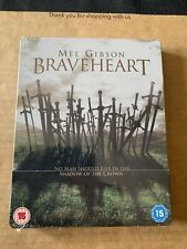 Braveheart UK Exclusive Blu Ray Steelbook. Brand New & Sealed. Mel Gibson
