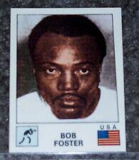 Bob Foster 1974 Panini Sport Vedettes Boxing card