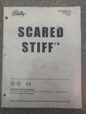 Scared Stiff Bally Pinball Operations Manual