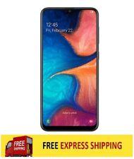 Samsung Galaxy A20 4G 2019 (4G/LTE, 32GB/3GB) - Blk Unlocked Phone AU STK AS NEW