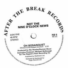 """Not The Nine O'Clock News - Oh Bosanquet - 7"""" Record Single"""