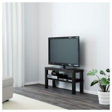 IKEA Lack Black TV Bench Table Entertainment Unit Floor Standing Table Cabinet