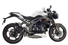 Speed Triple 1050 3-1 Escape SP Diabolus Carbono Oval Xls De Carbono Salida 2019