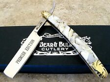 Bear & Bull Cutlery Premier Edition Straight Razor Knife