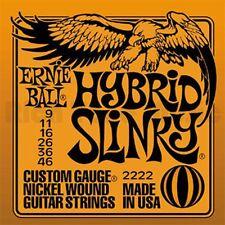Ernie Ball 2222 Hybrid Slinky 9 46 Corde Per Chitarra Elettrica Muta Completa