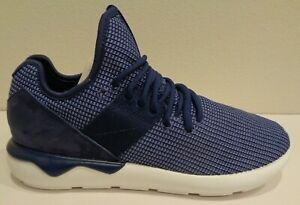 Adidas Size 10 TUBULAR RUNNER S W ORIGINAL Blue Athletic Sneakers New Mens Shoes