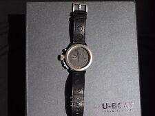 U-Boat Italo Fontana Flightdeck 7750 50 Automatic Watch - Black, Retail $7885