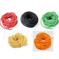10M Natural Elastic Latex 1745 Rubber Band Tube for Hunting Slingshot Catapult