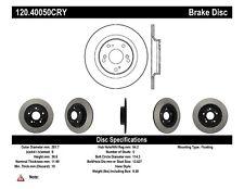 Premium Disc-Preferred fits 2000-2007 Honda S2000  CENTRIC PARTS