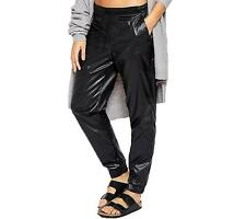 Nike WOMEN'S Jogger Pants Black Windrunner Windbreaker SIZE XS BRAND NEW