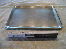 Edelstahl Verkaufsschale Schale Gastro Tablett ca 33 x 25 x 1cm Servierplatte 53