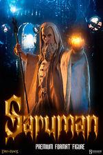 LOTR~SARUMAN THE WISE~PREMIUM FORMAT FIGURE~LE #39 / 1000~SIDESHOW~MIB