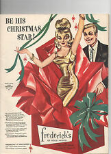 VINTAGE X-MAS 1963 FREDERICK'S OF HOLLYWOOD CATALOG! SEXY OUTFITS/LINGERIE/BRAS!