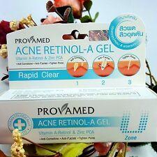 10g Provamed Acne Retinol-A Gel Anti Comedone P.acnes Tighten pores, Oil Control