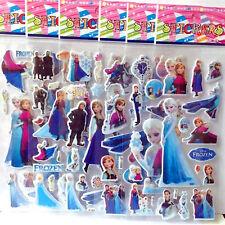 buy 2, 1 free - FROZEN STICKERS SHEET ANNA ELSA PARTY LOLLY BAG TREAT BOX FILLER