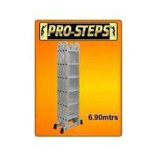 Escalera multifuncion 6.90 mtrs. marca Pro-Steps