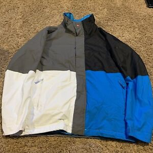 Quiksilver Mens Utility Collection Snowboard Jacket QuikTech Size Small (AD)